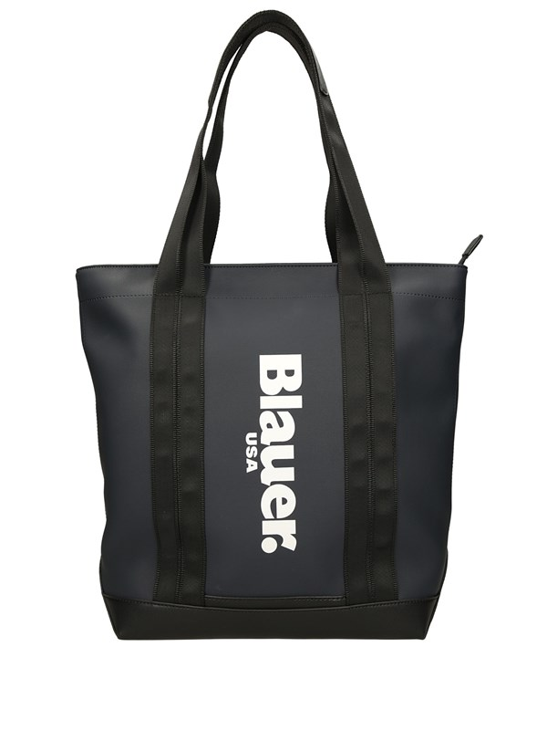 Blauer Shopping Blu