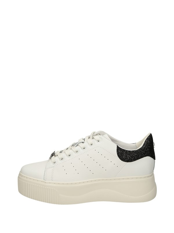 Cult Sneakers Basse  Bianco Nero
