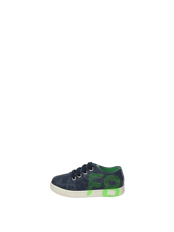 Naturino Sneakers Basse  Jeans Verde