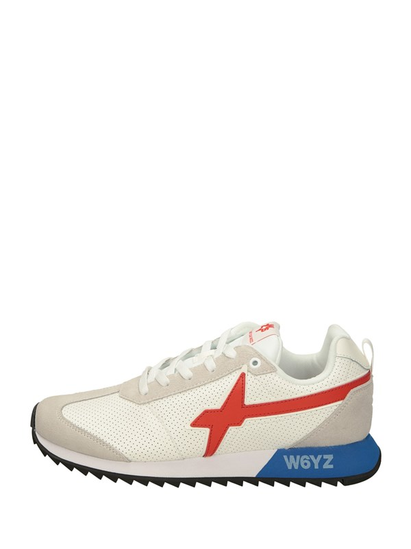 W6yz Sneakers Basse  Bianco Rosso