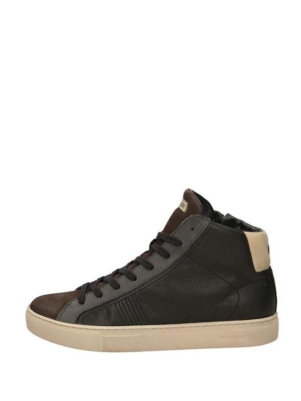 Crime London Sneakers Alta Nero