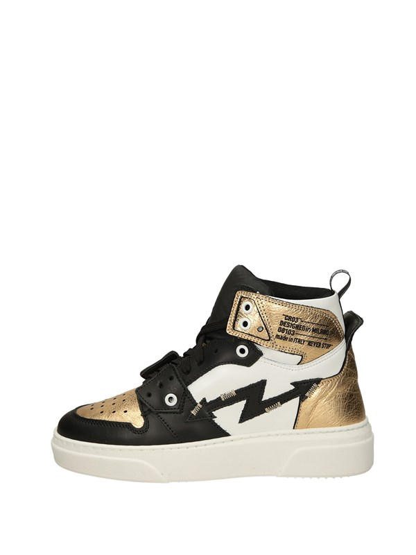 Cr03 Sneakers Alta Oro