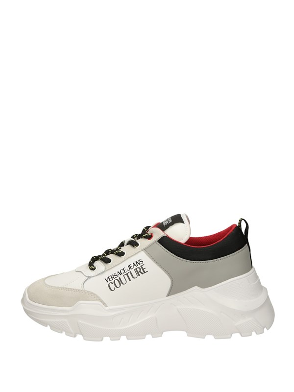 Versace Jeans Couture Sneakers Basse  Bianco Ghiaccio