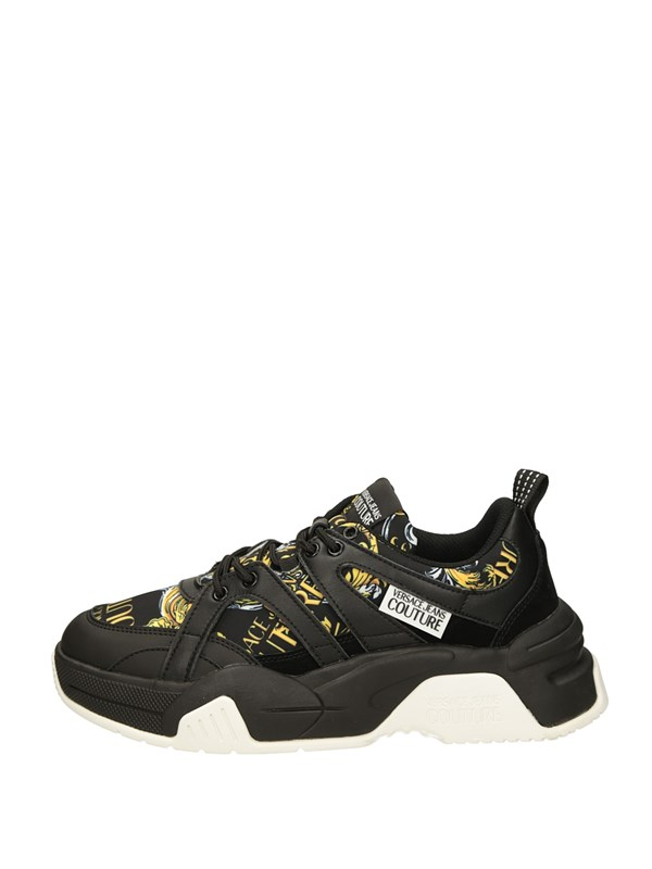 Versace Jeans Couture Sneakers Basse  Nero
