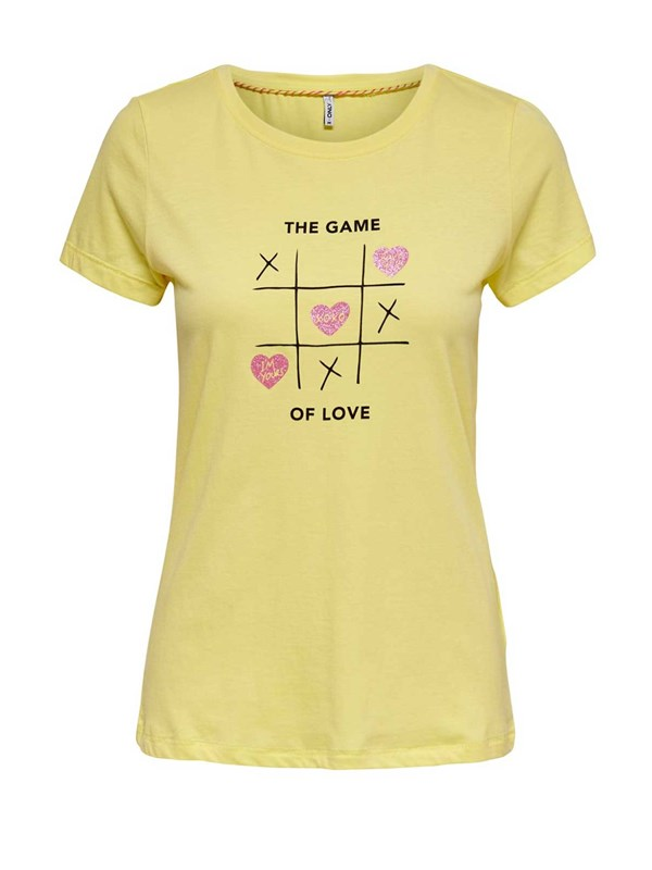 Only Tshirt Giallo