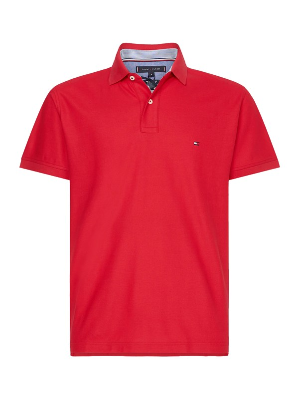 Tommy  Hilfiger Polo Rosso