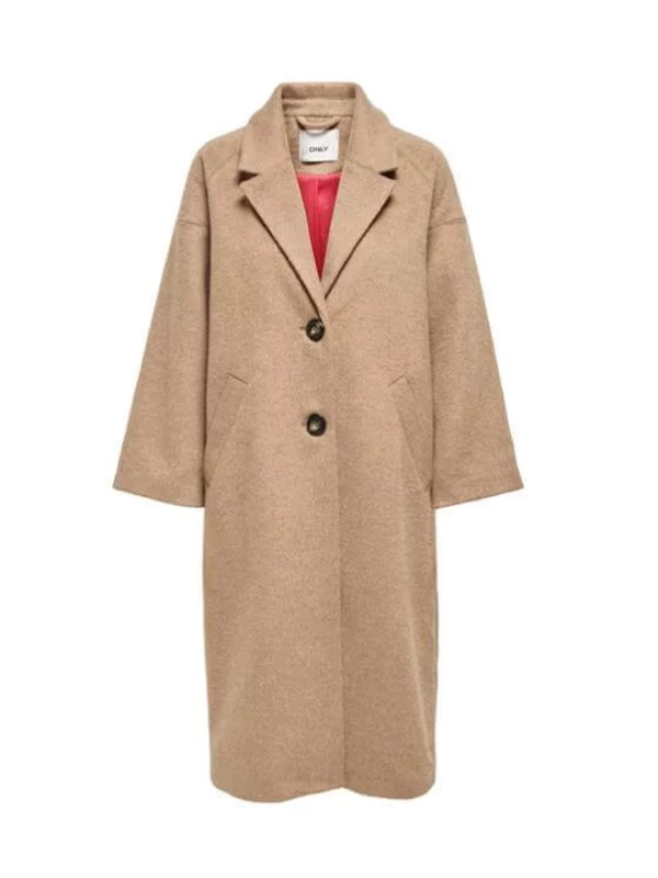 Only Cappotto Taupe