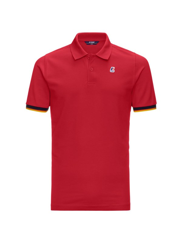 K-way Polo Rosso
