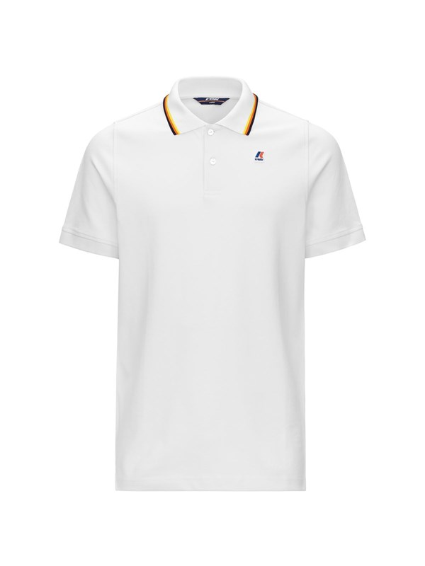 K-way Polo Bianco