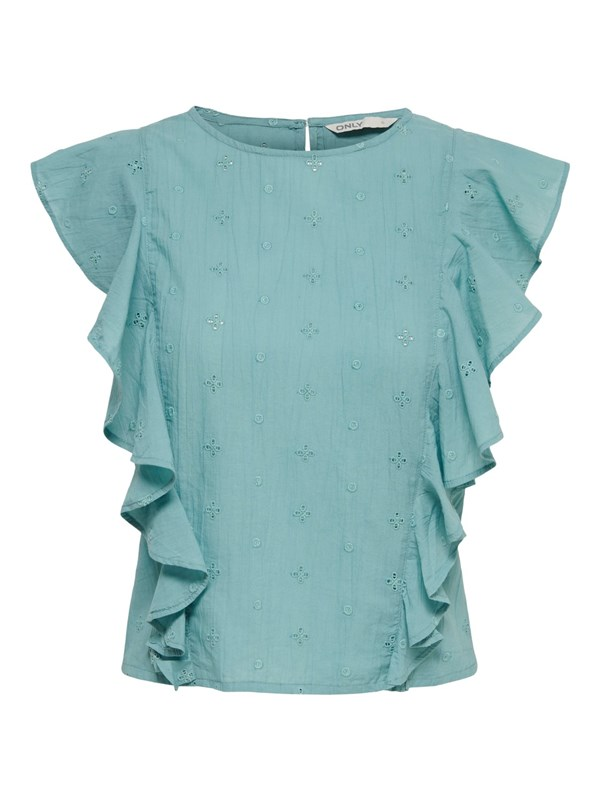 Only Blusa Turchese
