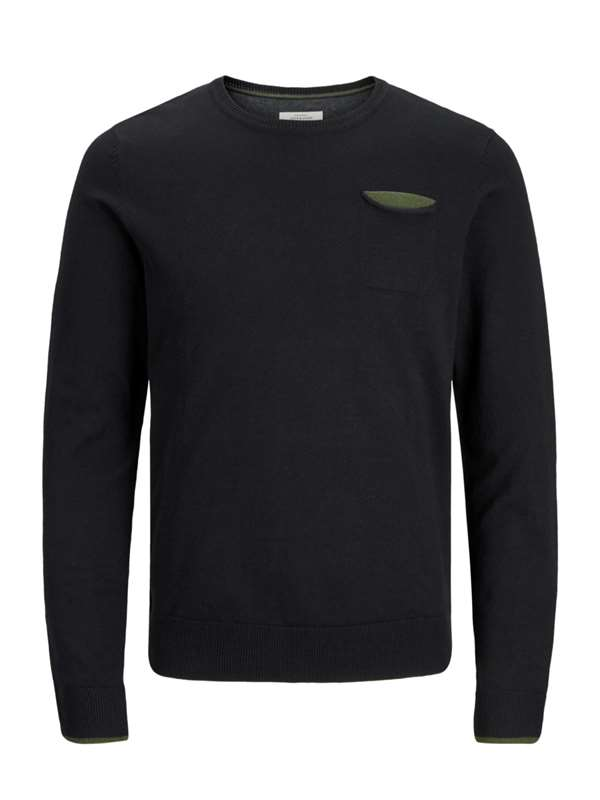 Jack&jones Originals 12144093 Black Clothing Man