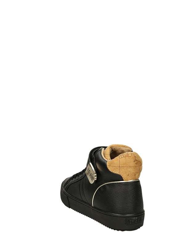 Alviero Martini 1°classe 10010 Nero Scarpe Donna Sneakers 8fc2654f754