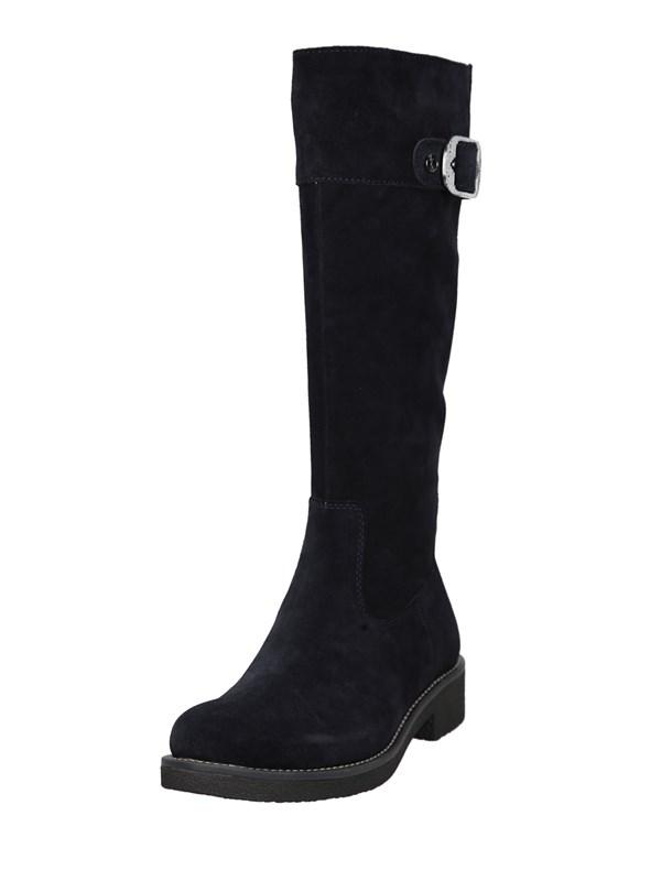 U.s. Polo Assn Stivali Nero | Stivali Donna 100% Camoscio